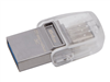 Clé USB 3.1 KINGSTON DT MicroDuo 3C - 64 Go